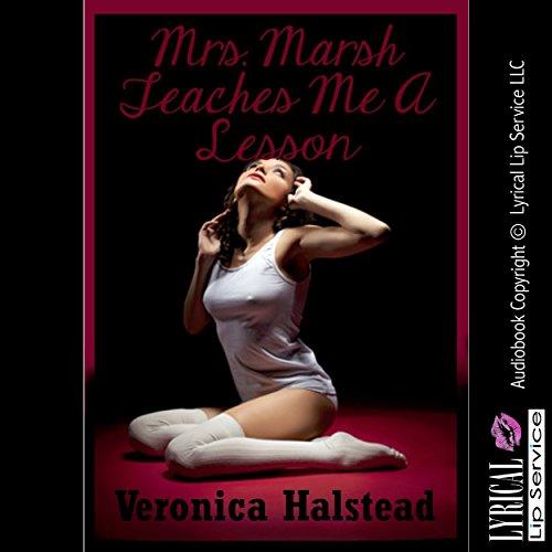 Mrs. Marsh Teaches Me a Lesson audiobook cover art
