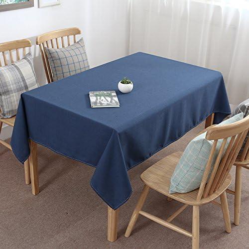 Wyyqazwsx Reine Farbe Staub Esstische kunst Tables Restaurant Tischset lange Party Tischdecke, 14,45 X 45