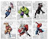 Superhero Wall Decor - Avenger Wall Art –...