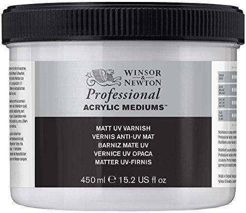 Winsor & Newton - Vernice acrilica opaca, resistente ai raggi UV, 474 ml