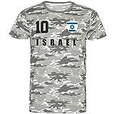 Gaya Entertainment Nation Israel - Camiseta de camuflaje (talla 10) camuflaje XXL