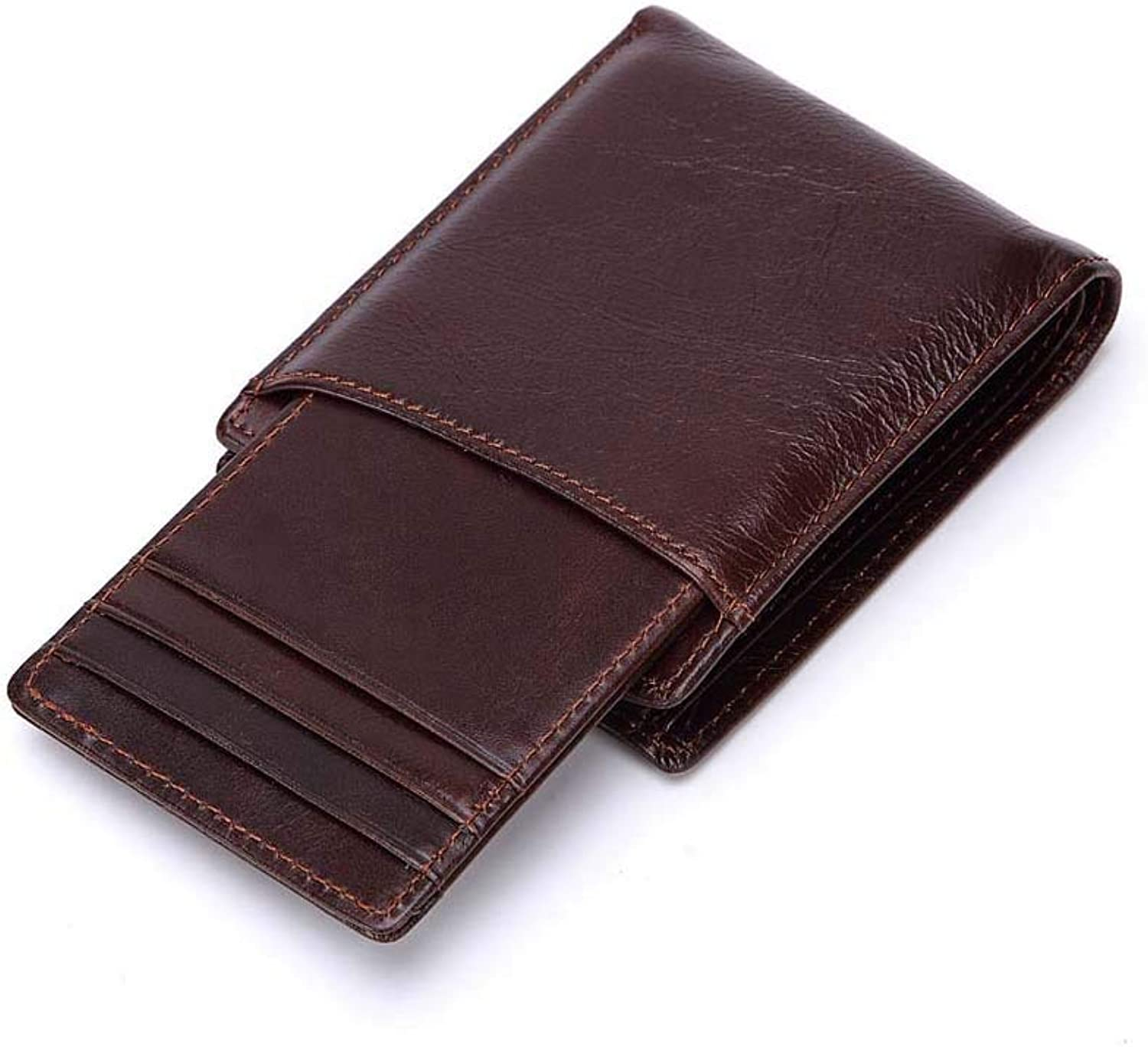 Vintage Men Short Wallet Short Vintage Men's Wallet, Removable Card Bag, Multifunctional Wallet. by Enking