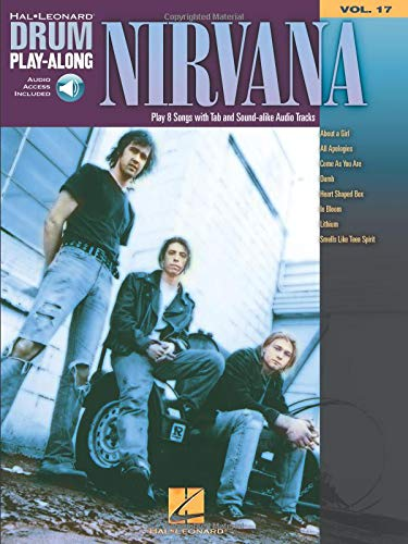 Nirvana: Noten, CD für Schlagzeug (Drum Play-along, Band 17)