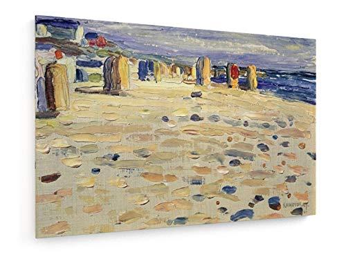Vassily Kandinsky - Sillas de Playa de Mimbre - 1904-60x40 cm - Impresion en Lienzo - Muro de Arte - Canvas, Cuadro, Poster - Old Masters/Museum