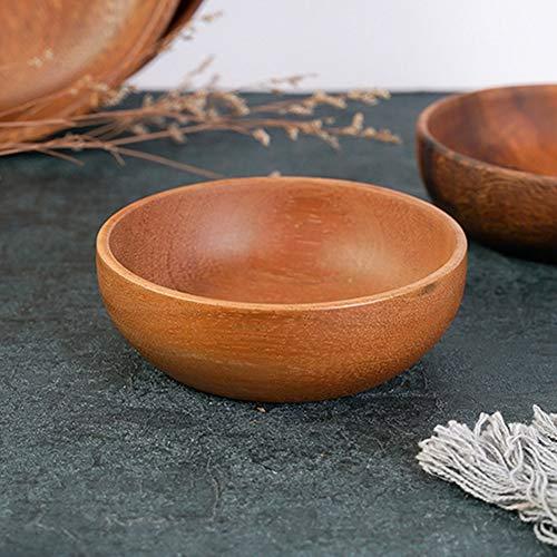 Liyeehao Ensaladera con Textura Simple, Saludable, ecológica, fácil de Limpiar, Delicada ensaladera, para el hogar en la Cocina del Restaurante del Hotel.