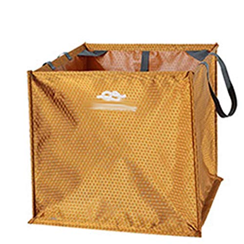 BEYONDTIME Kletter Tasche Rope Bag Kletterplatz Kletter Folding Seil Basket Outdoor-Klettern Klettern Werkzeug-Zubehör Storage Basket Yellow