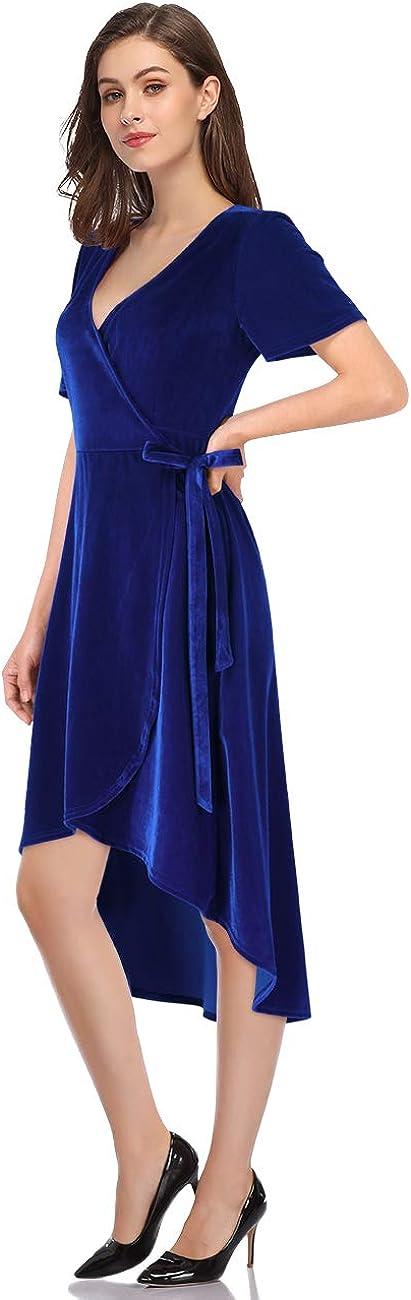 Leadingstar Women's Velvet price Formal Ranking TOP13 Gown Holiday Party Dress