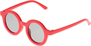 Almencla Crianças Óculos de Sol Bonito Rodada óculos de Sol óculos de Sol Das Crianças para Meninos Meninas Acessórios Do ...