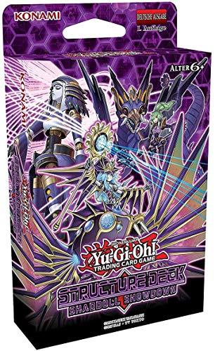 A YuGiOh Structure Deck Shaddoll Showdown | DEUTSCH | Yu-Gi-Oh! Karten NEU & GÜNSTIG | + Arkero-G 50 Small Soft Sleeves japanische Kartenhüllen