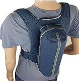 WoodyKnows Anti-Schnarch Rückenkissen Schnarchrucksack Schlafrucksack - Set aus Anti-Schnarch-Rucksack Größe M-XXL und Ratgeber zur Rückenlageverhinderung