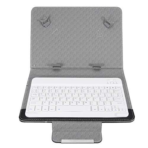 Garsent Bluetooth Tastatur Hülle für Android Tablet,10in Tablet Wireless Keyboard Hülle Cover