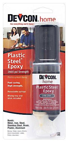 Devcon (62345-6PK) Plastic Steel Epoxy - 25 ml Dev-Tube