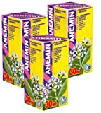 Anemin Fitoconcentrado - Pack de 3 - Curso de 21 días - Extractos naturales de plantas - Hemoglobina - Deficiencia de hierro - Vitamina B12 Deficiencia de ácido fólico - Anemia