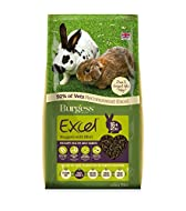 Burgess Excel Nuggets with Mint Adult Rabbit Food, 10 kg