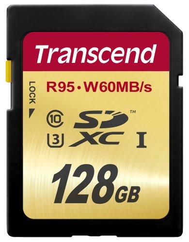 Transcend TS128GSDU3 - Tarjeta de Memoria SecureDigital de 128 GB