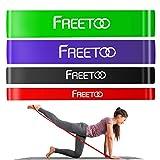 FREETOO フィットネスチューブ エクササイズバンド トレーニングチューブ 天然ゴム 肉体改造 機器 男女兼用 筋力トレーニング リンフティグ筋肉 レッド 負荷7~16kg [並行輸入品]