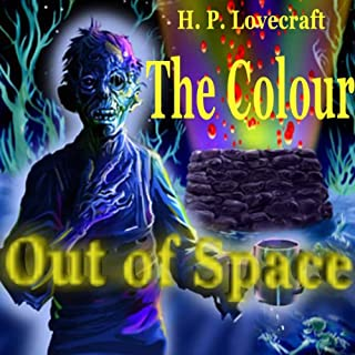 The Colour Out of Space audiobook cover art
