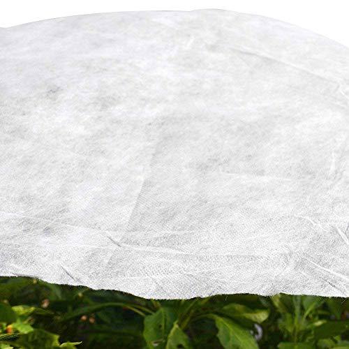 Jardin W-40g Plant protection Non-weave Tissu Couverture contre les Snow Frost Hail insectes 3M x 6M blanc