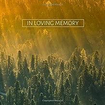 Best loving memory funeral guest book book Reviews