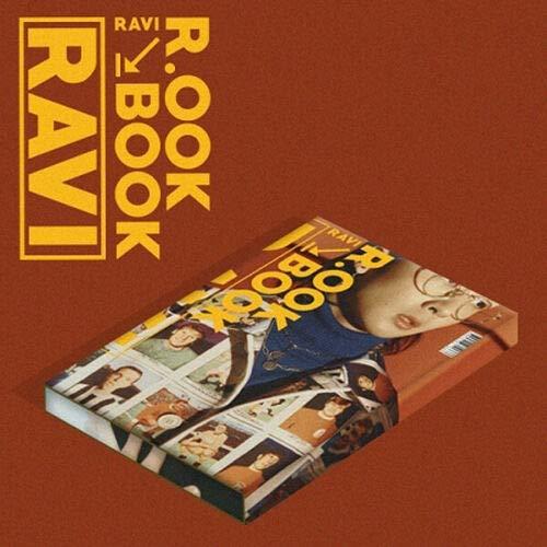 VIXX RAVI [R.OOK BOOK] 2nd Mini Album KIHNO Ver Kihno KIT+30p Photo Card+2p Post Card+Track List & User Guide+TRACKING CODE