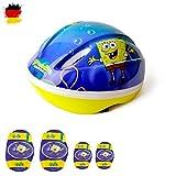 SPONGEBOB 3-teiliges Set Schwamkopf Unisex Kinder Helm,...
