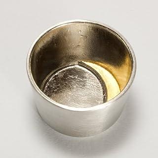 【本錫】【能作】【高岡伝統工芸ブランド】プレゼントに最適 ぐい呑-月 金箔
