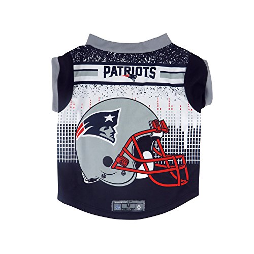 NFL New England Patriots Pet Performace T-Shirt, Small