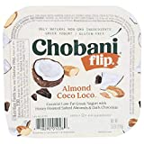 Chobani Flip Almond Coco Loco Low Fat Greek Yogurt, 5.3 Ounce -- 12 per case