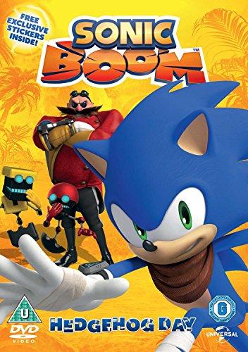 Sonic Boom Volume 2: Hedgehog Day (includes free sticker sheet) [DVD] [2016] UK-Import (Region 2), Sprache-Englisch.