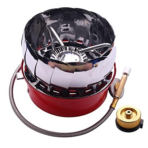 Varadyle 4 Tipo Estufa A Prueba De Viento Estufa Utensilios De Cocina Quemadores De Gas para Cámping Picnic Comida Al Aire Libre BBQ D