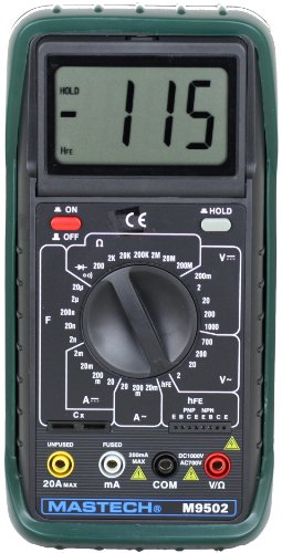 Amazing Deal Sinometer M9502 AC/DC 31-range 20A Digital Multimeter with adjustable LCD Display