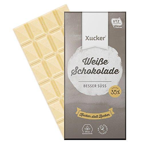 Weiße Schokolade von Xucker
