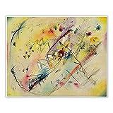 CanvasArts Helles Bild Wassily Kandinsky - Poster - Light