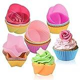 Molde para muffins reutilizable,Molde de silicona estándar,Molde de postre de silicona para muffins,Taza para hornear reutilizable,Molde para hornear de silicona reutilizable,Molde para cupcakes