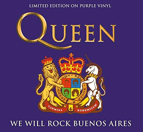 Queen - We Will Rock Buenos Aires (Purple Vynil) [Vinyl LP]