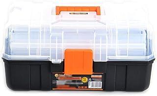 YIN YIN - Caja de almacenamiento de herramientas - caja de almacenamiento multifuncional de plástico for el hogar caja de ...