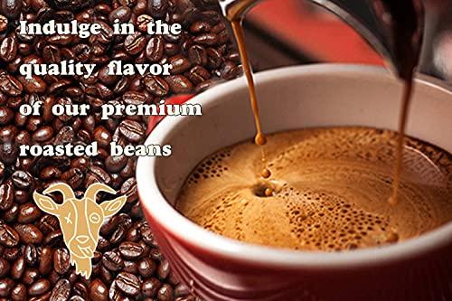 Thank the Goat 100% Gourmet Colombian Ground Coffee, Dark Roast, Award...