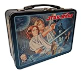 The Tin Box Company 344707-DS Star Wars Vintage Classic Tin Lunchbox, Black