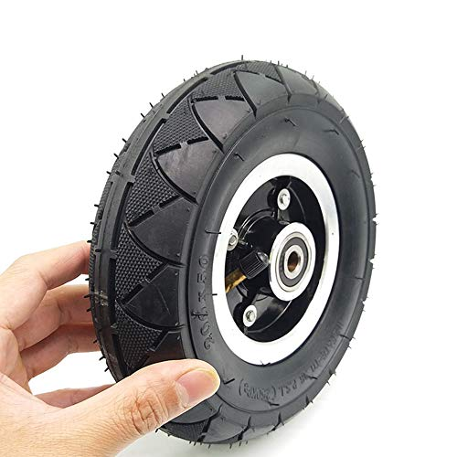 housesweet - Juego neumático de neumáticos para Ruedas eléctricas de 8 Pulgadas con rodamiento de buje