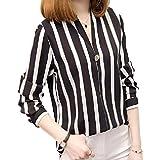 ブルブル ちえこ なりきり コスプレ 衣装 シャツ パーティー 仮装 (M, ストライプシャツ)