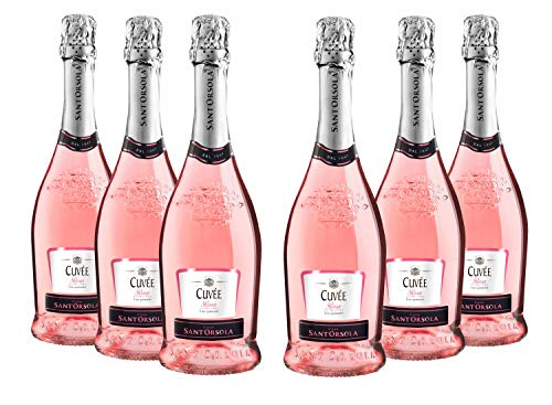 Sant'Orsola Sekt Cuvèe Rosa Trockene 6 Flaschen Rosé (6 x 0.75 l)