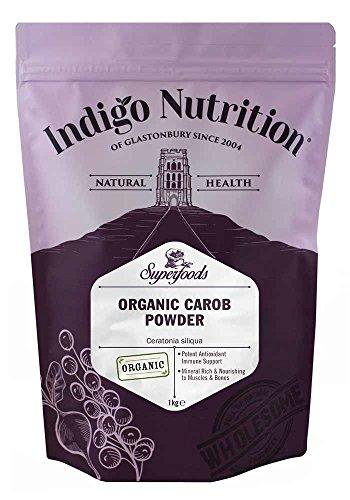 Indigo Herbs Algarroba Orgánica en Polvo 1kg