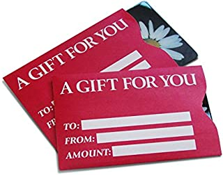 Best gift card sleeves in bulk Reviews