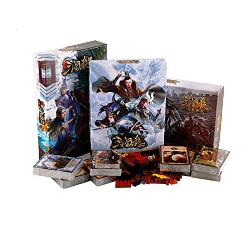 DEALBUHK Juego de mesa Tres reinos matan a la nueva edición Big Full Set Genuine Standard Edition National War Collection Classic Package Package Party Tarjetas de juego Interesante juego de cartas de