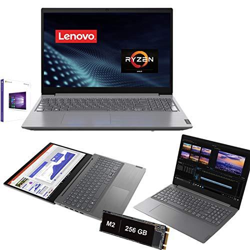 Notebook Lenovo Amd Ryzen 5-3500U 3.7Ghz,15,6' 1920 x 1080 Full Hd,Ram 8Gb Ddr4, Ssd Nvme 256Gb M2,Hdmi,Lettore,Lan,Bluetooth,Webcam,Windows 10pro