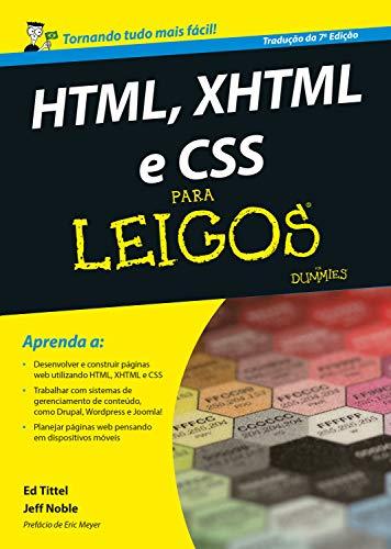 HTML, XHTML e CSS Para Leigos