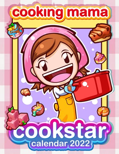 Cooking Mama Cookstar Calendar 2022: Game calendar. This incredible cute calendar july 2021 to december 2022 with high quality pictures. Gaming calendar 2021-2022