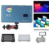 【在庫あり】FalconEyes F7 12W RGBライト ハニカムソフト付き Miniポケットカメラライト 磁石吸着機能 Bi-Color2500K-9000K CRIT97 4060LUX@0.3m Type-C充電式 on-カメラビデオライト