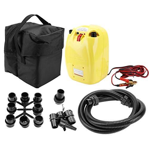 DAUERHAFT Accesorio para Bote Inflable PVC, sólido y Duradero, Utilizado para inflar o desinflar el Kayak con Bomba de Alta presión, para inflar canoas