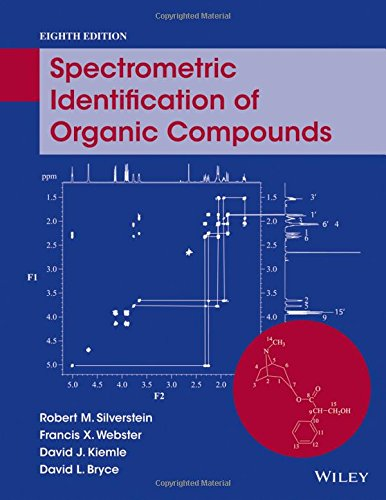 The Spectrometric Identification of Organic Compounds